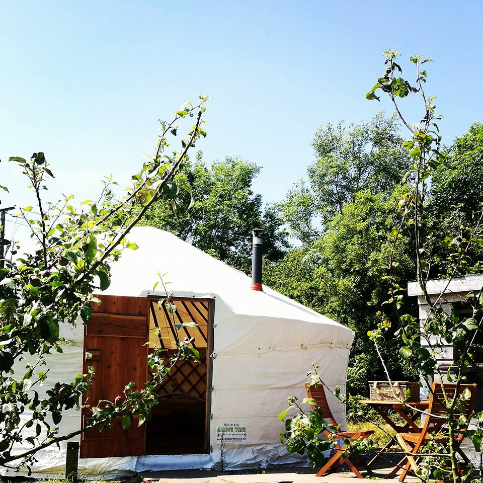 This is a picture of a yurt in west wales