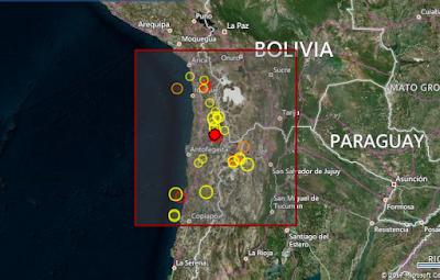 SISMO 6,2 GRADOS NORTE DE CHILE
