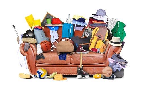No permitir que se vuelvan a acumular objetos de nuevo en tu espacio.
