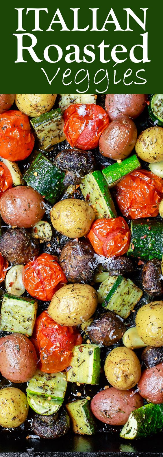 ITALIAN OVEN ROASTED VEGETABLES #italianfood #roasted #vegetables #vegetarianrecipes #vegetarian #veggies #veganrecipes #vegan