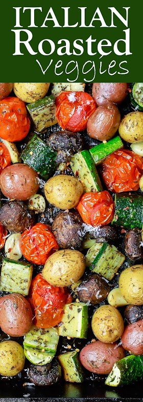 ITALIAN OVEN ROASTED VEGETABLES