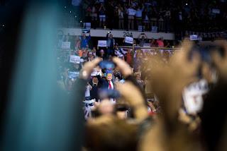 Donald Trump visits USF Tampa.