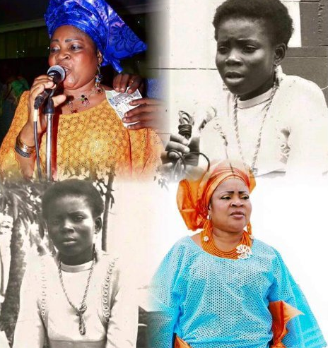 salawa Abeni the gentle lady is 55 years old today as she celebrates birthday with throwback picture
