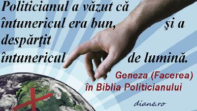 Geneza (Facerea) în Biblia Politicianului