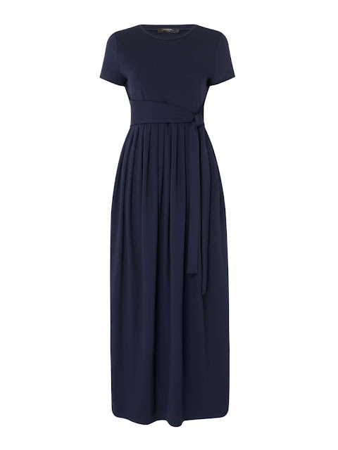 max mara weekend rivalta jersey maxi with pleated skirt