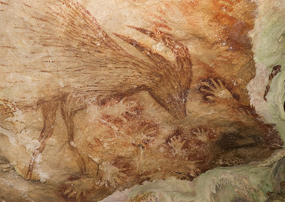 Sulawesi cave art - Indonesia archaeology news