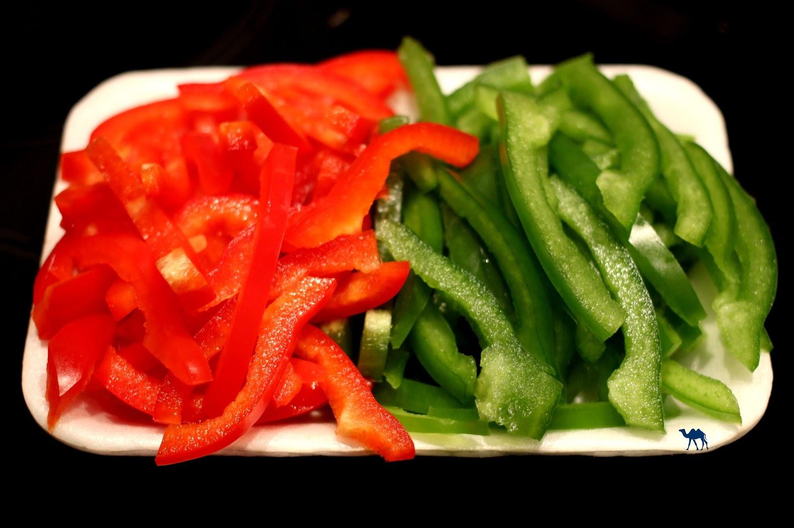 Le Chameau Bleu - Poivrons émincés - Cuisine coréenne