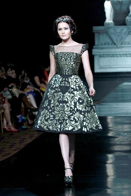 Model Gaun Kebaya Pesta Pendek Terbaru