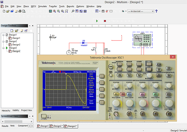Virtual-Instruments-Multisim