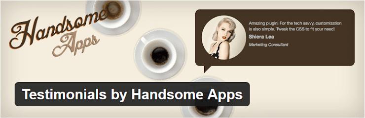 Handsome testimonials plugin