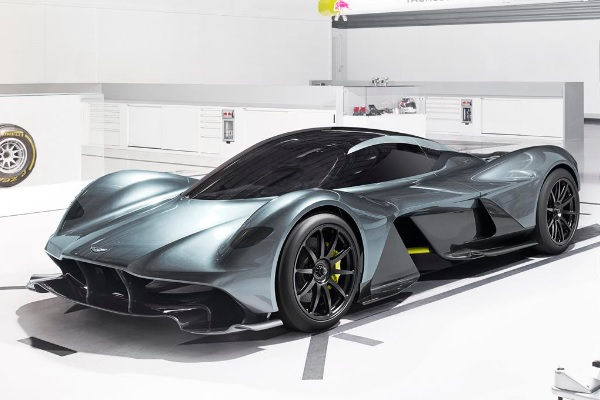 Este es el hiperauto de Aston Martin y Red Bull Racing, el AM RB-001