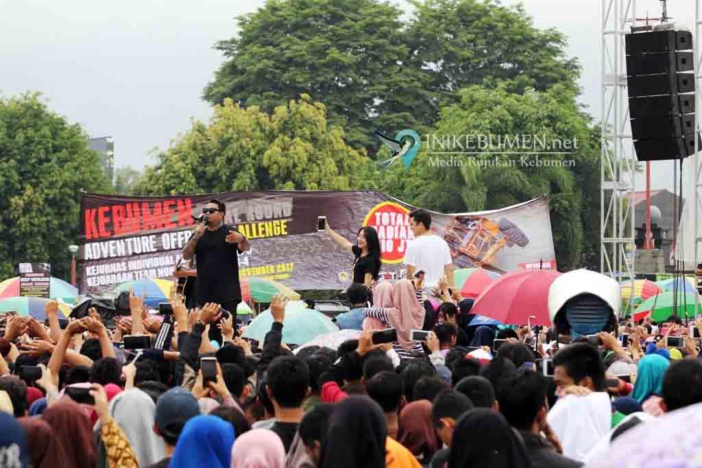 Gelaran Karnaval Inbox SCTV di Kebumen Dibiayai APBD Rp 150 juta