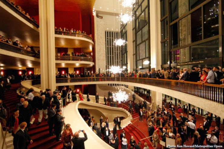 10. The Metropolitan Opera, New York City, USA - Top 10 Opera Houses in the World