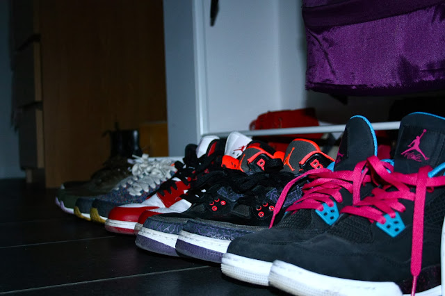 Sneakerfreaker Sneakers Jordan Pink Crimson Jordan Girls Liberty of London