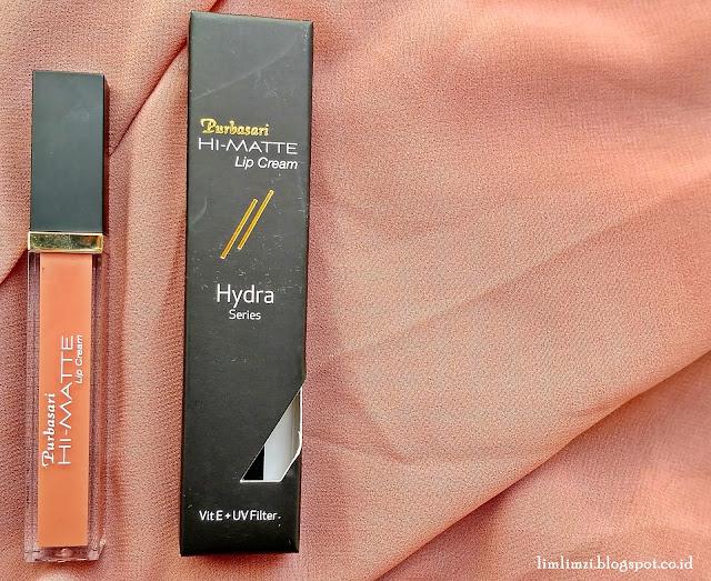 Purbasari Hi-Matte Lip Cream Hydra Series  01 Vinca