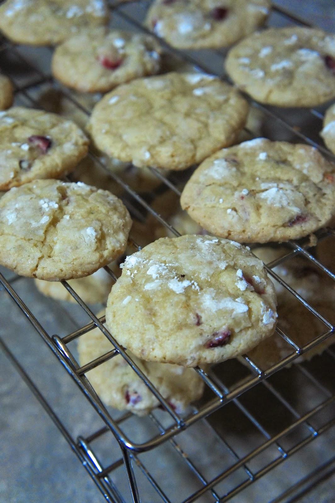 Orange Cranberry Crinkle Cookies: Savory Sweet and Satisfying