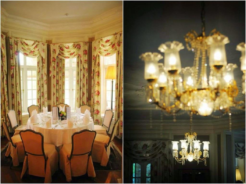 high class chandelier