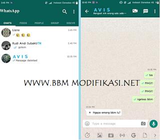BBM Mod Whatsapp v3.2.0.6 Apk Versi Terbaru