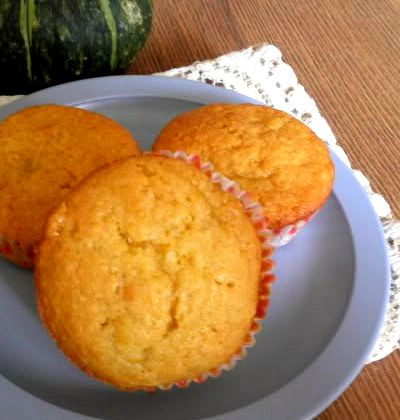 Pumpkin Banana Muffin Recipe @ treatntrick.blogspot.com