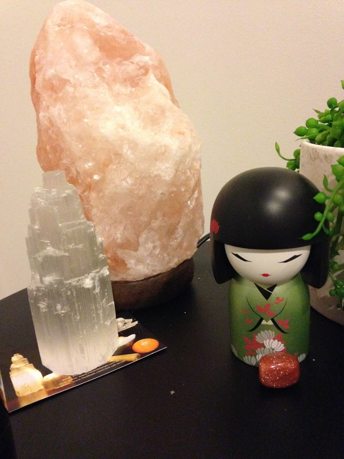 Salt Lamps And Cats : Core Integrity with Cat