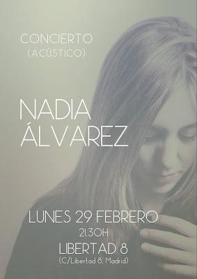 Nadia Alvarez libertad ocho