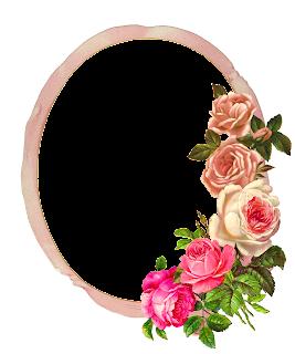 rose flower frame download printable