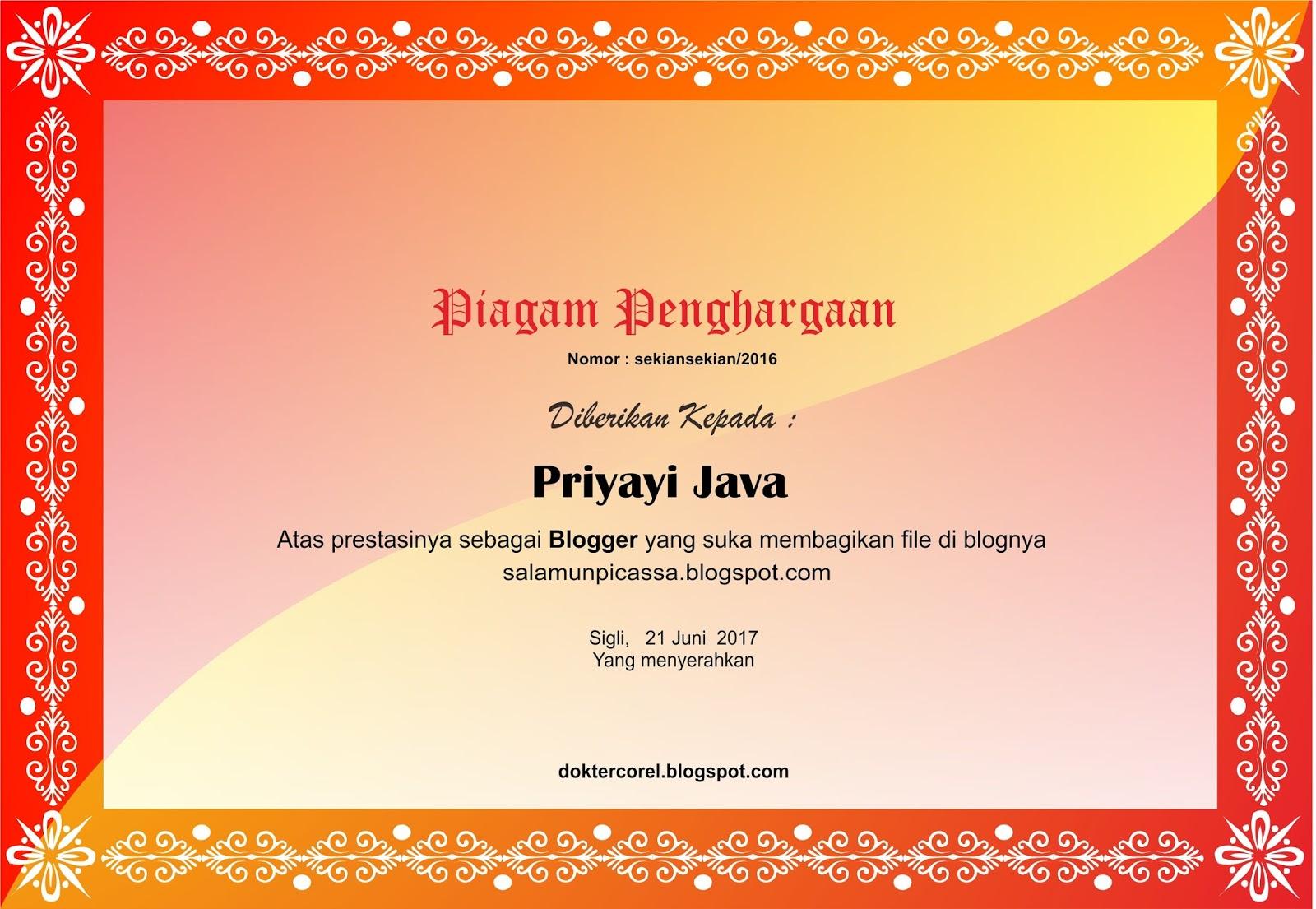 Download Kumpulan Bingkai Sertifikat / piagam Format Corel ...
