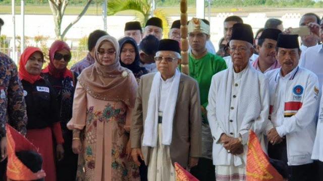 Ma'ruf Amin Diingatkan Bawaslu Jelang Kuliah Umum di UIN IB Padang