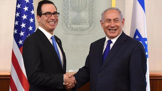 Netanyahu agradece a EEUU sus sanciones a Irán y Hezbolá