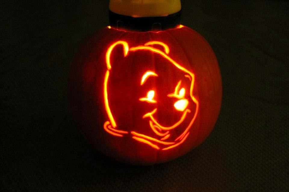 Tam good blog pumpkin carving for Winnie the pooh pumpkin carving templates