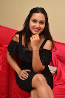 South Actress Amulya in short black dress at Kalamandir Foundation 7th anniversary Celebrations ~  Actress Galleries 070.JPG