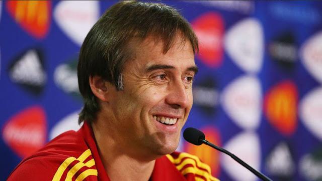 Julen Lopetegui - Spanyol termasuk dalam pelatih dengan gaji terbesar