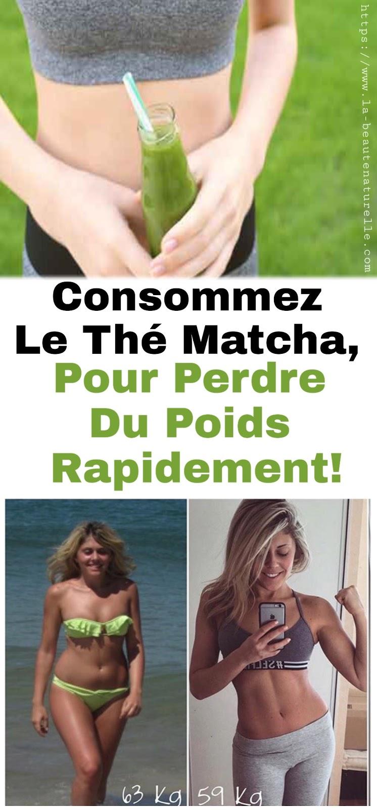 Consommez Le Thé Matcha, Pour Perdre Du Poids Rapidement!