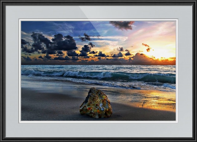Sunrise Seascape Photography by Ricardos Creations