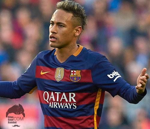 Model Rambut Neymar