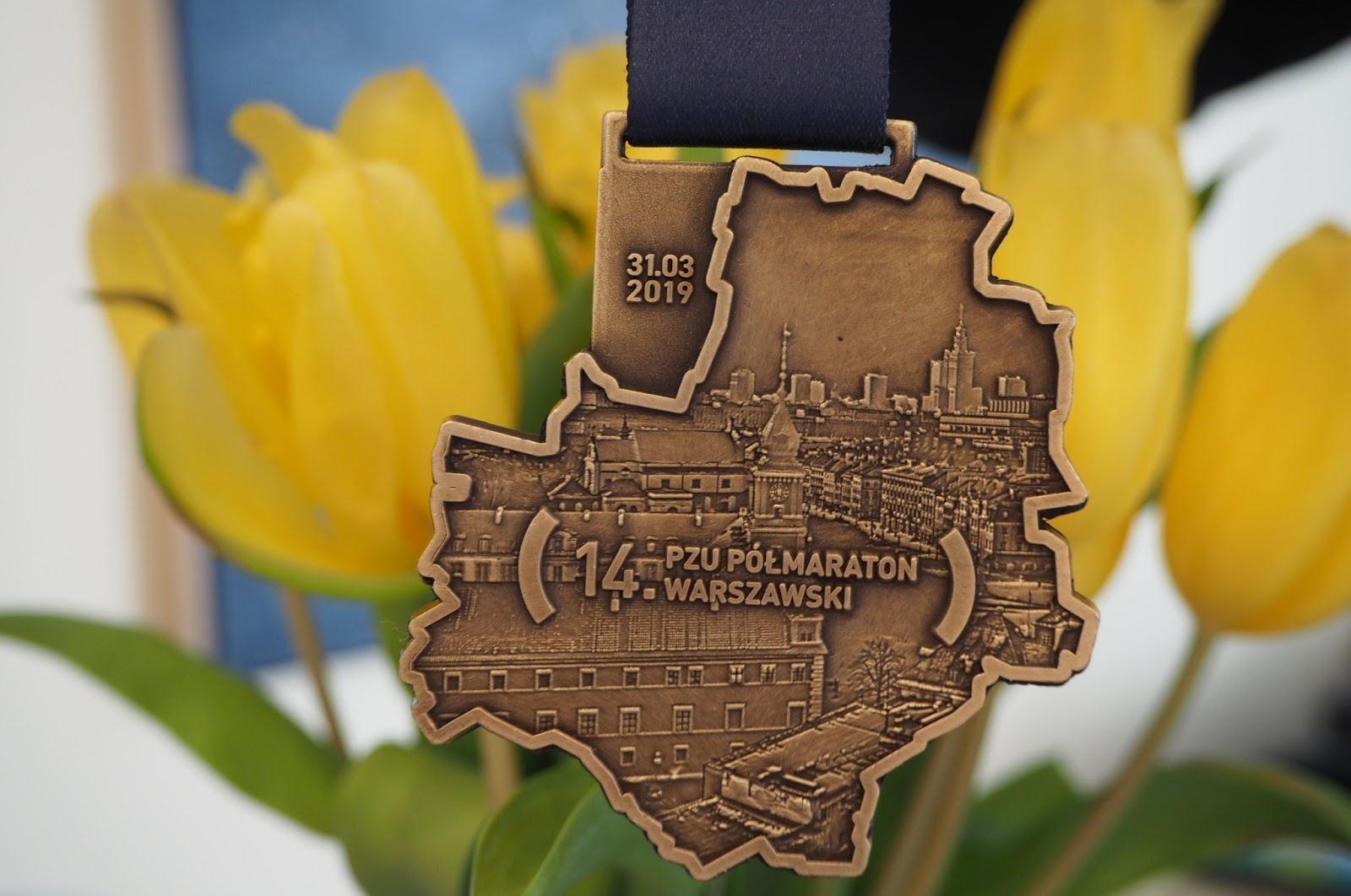14 PZU Półmaraton Warszawski – 8 medal do kolekcji