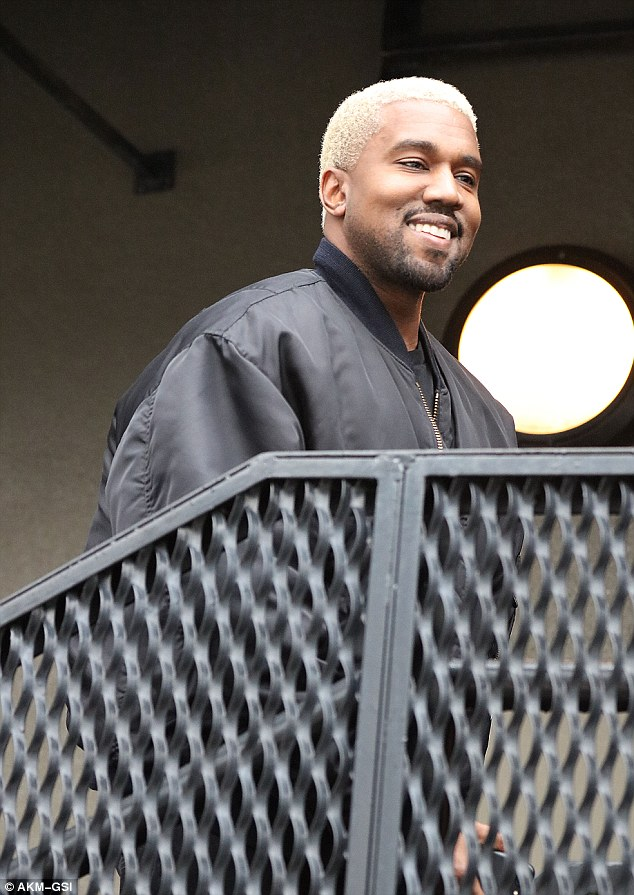9a931585 Kanye West is back on the West Coast after the rather low-key launch of his Yeezy  season 5 collection during New York Fashion Week last Wednesday.