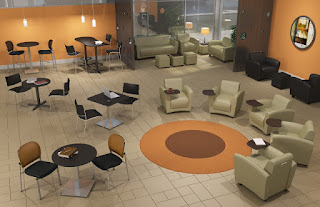 Professional Lobby Furniture Configuration