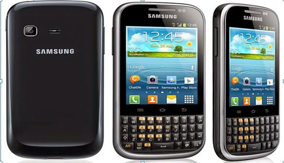 flashing samsung galaxy chat