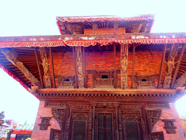 Intricate Architecture in Wood - Pagoda Style of Temple