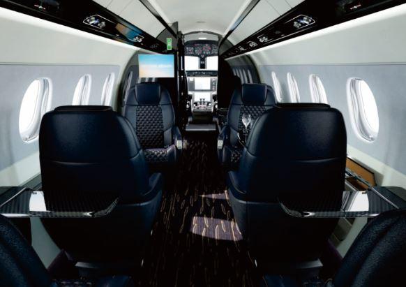 Embraer Praetor 600 cabin interior
