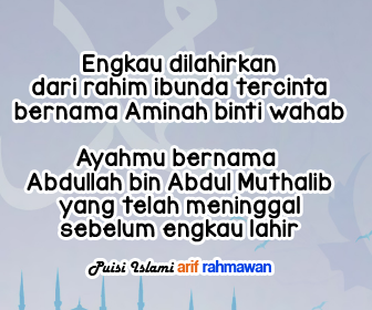 Puisi Maulid Nabi Muhammad Sedih Menyentuh Hati Operator Sekolah