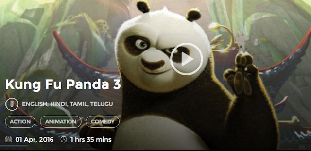 kung fu panda 3 watch online