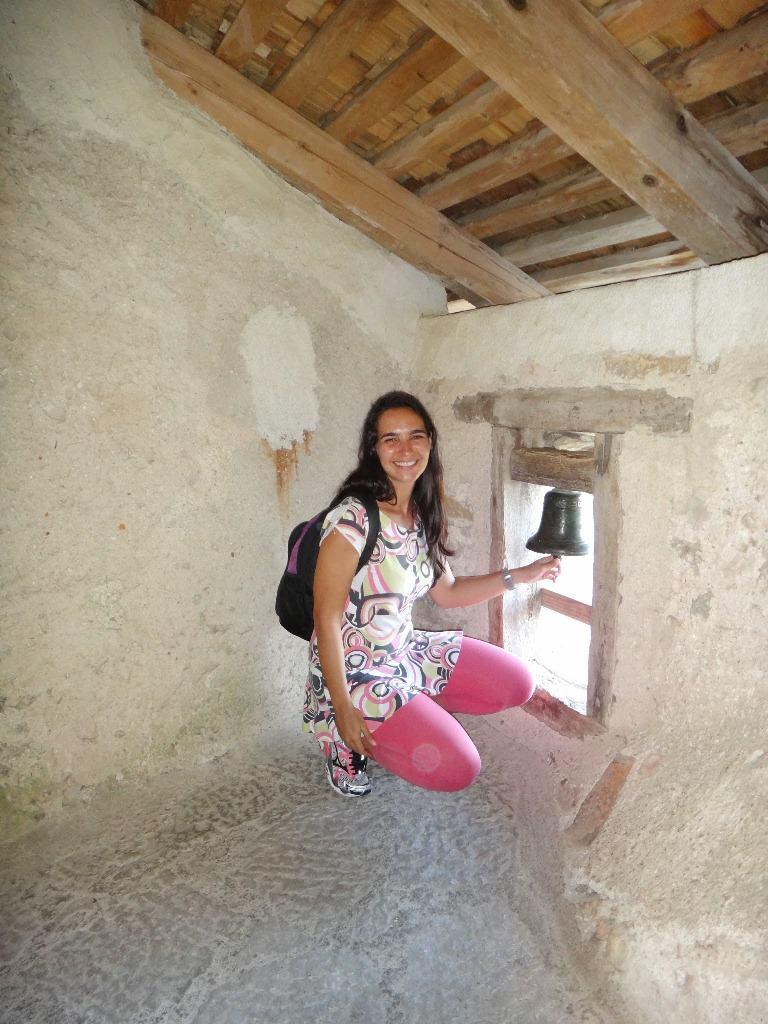 Castelo de Predjama na Eslovênia