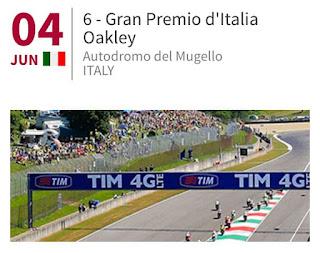 Jadwal MotoGP Mugello Italia 2017 2-4 Juni 2017 Race Live Trans7