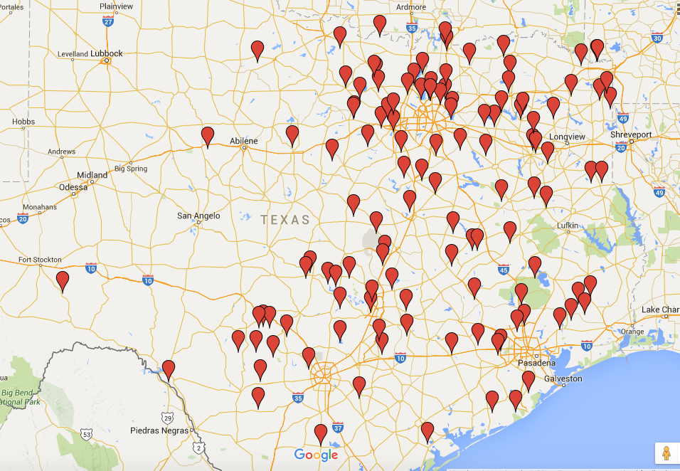 Texas Cryptid Hunter: Interactive Black Panther Distribution Map Updated