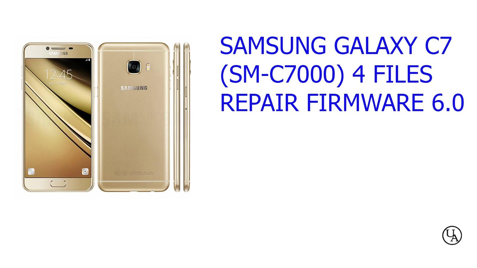 Gsmworld : SAMSUNG GALAXY C7 (SM-C7000) 4 FILES REPAIR