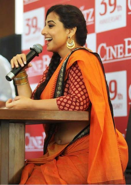 hot vidya balan in saree