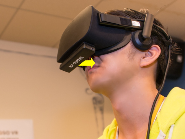 Virtual Reality to Relate with Smells