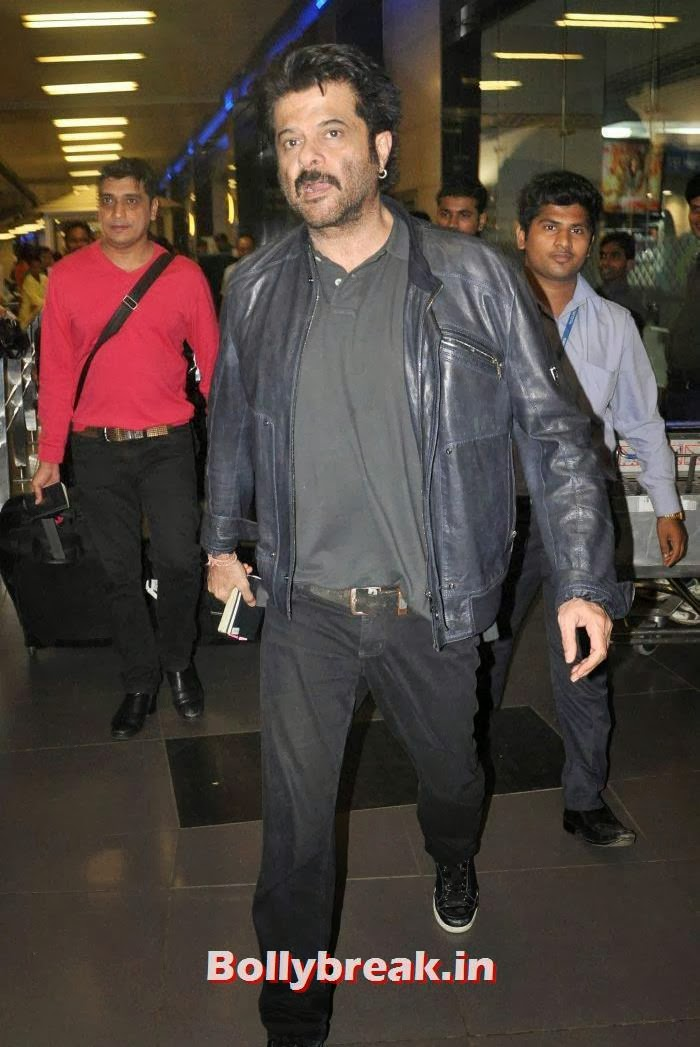 Anil Kapoor, New Year Celebrations: Various Celebs Snapped at Airport